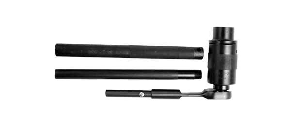 Palanca manual para instalación de tornillos tensión controlada